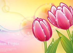 DREAMS TULIP  vector background http://www.vectorbackground.net/dreams-tulip-vector-background.html