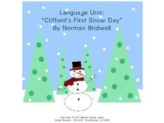 "Language Unit: ""Clifford's First Snow Day"" by Speech Wagon Ladies | Teachers Pay Teachers"