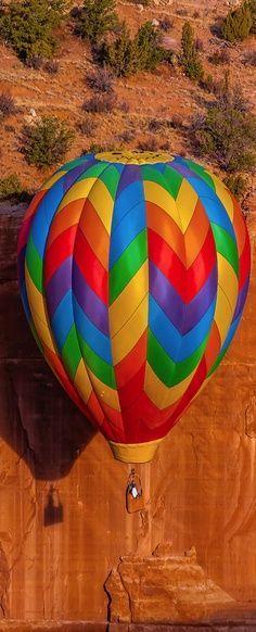 No balão
