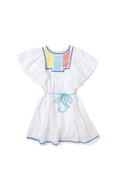 Country Road-Country Road - Girls' Clothing, Footwear & Accessories Online - Embroidered Bib Dress