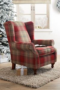 Unique Tartan Armchair 64 For Modern Sofa Inspiration with Tartan Armchair - with footstool Tartan Chair, Sofa Inspiration, Buy Sofa, Upholstered Chairs, Wingback Armchair, Blue Armchair, Corner Sofa, Living Room Chairs, Bedroom Furniture