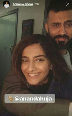 View Pics: Sonam Kapoor and beau Anand Ahuja make for an adorable couple http://www.pinkvilla.com/entertainment/photos/view-pics-sonam-kapoor-and-beau-anand-ahuja-make-adorable-couple-394604