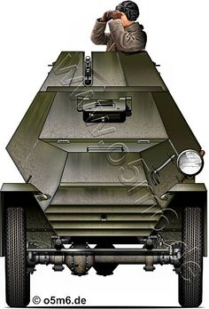 Engines of the Red Army in WW2 - BA-64 Light Armoured Car