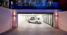 CONTEMPORIST: Garage Design Idea - Include A Car Turntable If You're Short On Space Or Have A Narrow Driveway http://www.davincilifestyle.com/contemporist-garage-design-idea-include-a-car-turntable-if-youre-short-on-space-or-have-a-narrow-driveway/    Garage Design Idea – Include A Car Turntable If You're Short On Space Or Have A Narrow Driveway | CONTEMPORIST              				           			  Inspiration from a home designed by Harrison Varma.   Many families h
