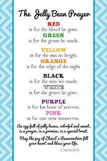 The Creative World of Great Day Graphics & Design: FREE Printable Jelly Bean Prayer for Easter