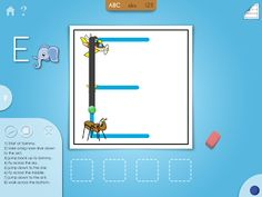 New Handwriting App - Start Dot - Pinned by @PediaStaff – Please Visit ht.ly/63sNtfor all our pediatric therapy pins