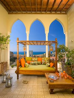 Moroccan Inspired Rooms Design, Pictures, Remodel, Decor and Ideas - page 2 Shape for cut outs in Ambers room