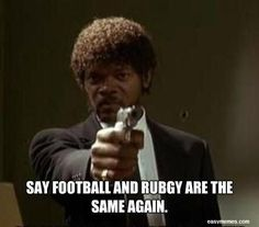 I dare you. I double dare you! – For the best rugby gear check out alwaysrugby… Rugby Memes, Rugby Funny, Rugby Quotes, Nfl Memes, Football Memes, Sports Memes, Funny Sports, Football Stuff, Funny Nfl Pictures