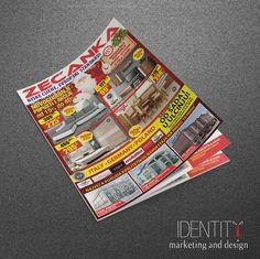 Dizajn akcijskog kataloga za klijenta: Robne Kuće Zećanka / Design of catalogue for client: Zecanka Home Stores Design