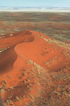 Dune in Namib Desert. Photo by Nick Legrand.
