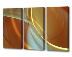 Musings Natural Triptych - Menaul Fine Art