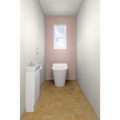 明るく落ち着いた印象のトイレです。性別や世代にとらわれずご利用いただけます。 Bathroom, Toilet, Bathtub