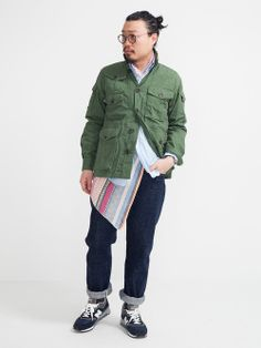 Engineered Garments Expedition Jacket New Balance M997NV
