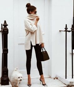 Cozy & Casual Office Outfits For Winter #fashion #outfits #clothing #winter #casual Classy Street Style, Winter Office Outfit, Winter Outfits For Work, Fall Outfits, Fashion Outfits, Office Outfits, Work Outfits, Smart Casual Women Office, Office Attire Women