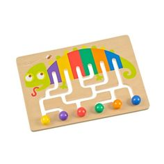to learn the colors, children didactic toy by casaideas