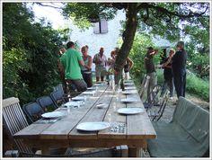 Voor onderweg 40 km van Millau, 70 km ten noorden van Montpellier en de Middellandse zee- MAS DE MESSIER- kleinschalige rustige boerderij camping met table d'hotes. http://www.masdemessier.com