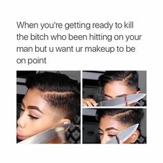 Get your laugh on to VERY Funny Makeup Memes! Very Funny, Haha Funny, Super Funny, Hilarious, Funny Stuff, Funny Things, Funny Shit, Random Stuff, Girly Stuff