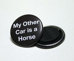 Equestrian Fridge Magnets  15  Horse  Pony by BayleafButtons, $2.20