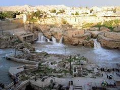 IRAN-Shushtar city Shushtar Historical Hydraulic System