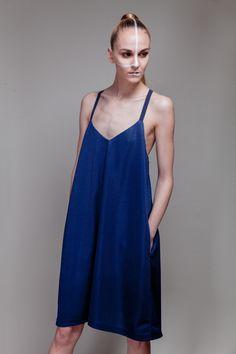 Airtex dress with pockets Dress No.3a