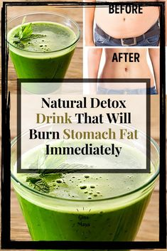 Below is a Natural Detox Drink That Will Burn Stomach Fat Immediately when consumed correctly. This recipe consists of only natural ingredients and you probably already have them lying around in your kitchen. Natural Detox Cleanse, Natural Detox Drinks, Flat Stomach Diet, Burn Stomach Fat, How To Stay Healthy, Healthy Life, Healthy Living, Simply Health, Fat Burning Detox Drinks