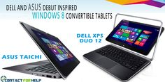 Dell and ASUS Debut Inspired Windows 8 Convertible Tablets