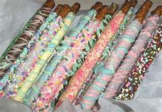 Image Search Results for chocolate covered pretzel rods