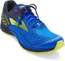 e4e452392b5 Brooks Mazama 2 Trail Blue Neon Running Shoes Men s Sample US