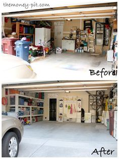 Mud room in garage #home #decor
