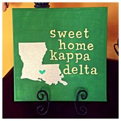 Sweet Home Kappa Delta by heavenlylifedesigns on Etsy