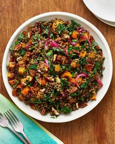 Lentil Salad that goes above and beyond This dish ensures those who aren't eating turkey have something to call their own.