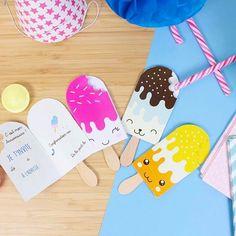 PDFCarte d'invitation anniversaire enfant à imprimer