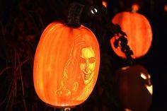 Pin for Later: 28 Wickedly Wonderful Pop Culture Jack-o'-Lanterns Kim Kardashian