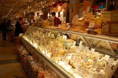 The #cheese counter at Murray's Grand Central #NY
