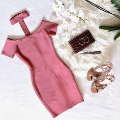 Blush Crush  The Isabeli Bandage Dress #MARCIANO