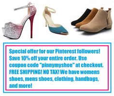 pinterest coupon code