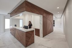 A thoughtful medical office with the look and feel of a spa