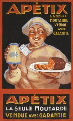 Apetix - La seule moutarde vendue avec garantie -