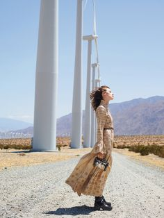 Nicolas Ghesquière marries Brutalist midcentury architecture with high fashion in his second collection for Louis Vuitton, in the California desert.