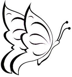 die 7 besten bilder von schmetterling malen | butterfly template, drawings of butterflies und