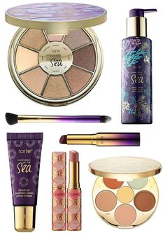 The new Tarte Rainforest of the Sea for Summer 2016 collection is coming soon to Sephora.com with a selection of brand new color cosmetics as well as brand