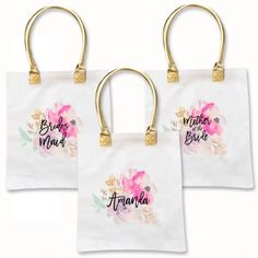 Personalized Bridesmaid Tote Bags | Unique Bridesmaid Gifts