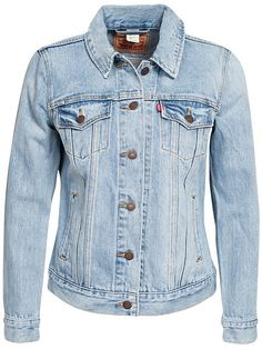 Boyfriend Trucker - Levis - Blue - Jackets And Coats - Clothing - Women - Nelly.com Uk