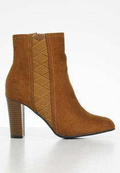 Mocca boot - camel Butterfly Feet Boots | Superbalist.com Mocca, Block Heels, Camel, Two By Two, Footwear, Butterfly, Booty, Ankle, Zip