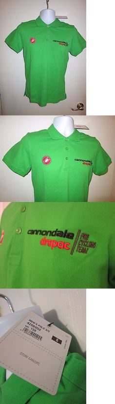 Casual T-Shirts and Tops 177851: New Castelli Cannondale Drapac Pro Cycling  Team Cotton