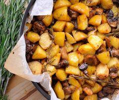 Πατάτες με μανιτάρια στο φούρνο | Συνταγή | Argiro.gr