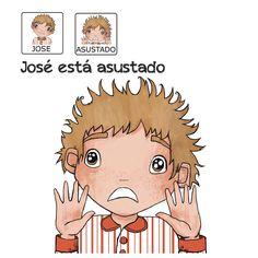 """""""José está asustado"""" - Proyecto sin ánimo de lucro que consiste en la creación, producción y difusión de cuentos infantiles adaptados a pictogramas para niños con autismo y otras necesidades especiales de aprendizaje, http://www.aprendicesvisuales.com/cuentos/"""