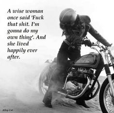 56 Ideas for motorcycle memes bikes funny Motorcycle Riding Quotes, Motorcycle Memes, Women Riding Motorcycles, Women Motorcycle Quotes, Girl Motorcycle, Triumph Motorcycles, Custom Motorcycles, Woman Meme, Bike Quotes