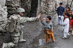the troops in afghanistan are true heros!!