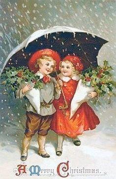A Victorian Christmas. Images Vintage, Vintage Christmas Images, Old Fashioned Christmas, Christmas Scenes, Christmas Past, Victorian Christmas, Vintage Holiday, Christmas Pictures, Christmas Greetings